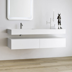 Unico Top with integrated washbasin | Vanity units | Rexa Design