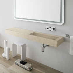 Unico Top with integrated washbasin | Wash basins | Rexa Design