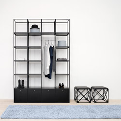GRID wardrobe | Lockers | GRID System ApS