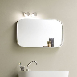 Fonte Mirror with shelf | Wall mirrors | Rexa Design