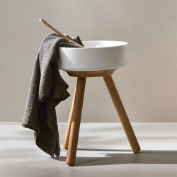 Fonte Stool with Bowl | Wash basins | Rexa Design