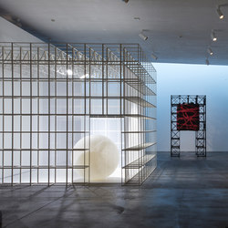 GRID exhibition | Sistemi divisori stanze | GRID System ApS