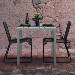 Midi Outdoor Table | Cafeteriatische | Sistema Midi
