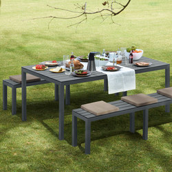 Midi Outdoor Table | Garten-Esstische | Sistema Midi
