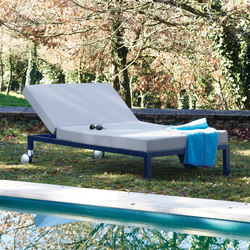 Midi Outdoor Deck chair | Méridiennes de jardin | Sistema Midi