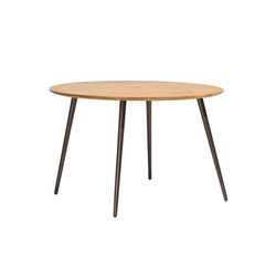 Vint table 120 iroko | Tables de restaurant | Bivaq