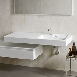 Ergo_nomic Top with integrated washbasin | Vanity units | Rexa Design