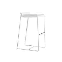 Sit backrest barstool | Tabourets de bar de jardin | Bivaq