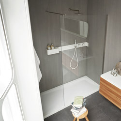 Ergo-nomic Shower tray and enclosure | Shower screens | Rexa Design