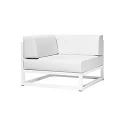 Nude corner module | Garden armchairs | Bivaq
