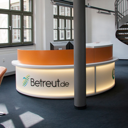 Made to measure | Reception desks | planmöbel
