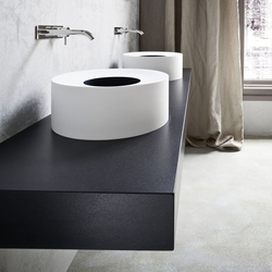 HOLE Semi-Recessed Washbasin | Wash basins | Rexa Design