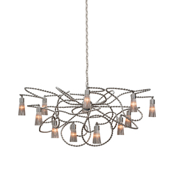 Sultans of Swing chandelier oval | Ceiling suspended chandeliers | Brand van Egmond