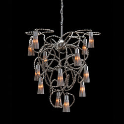 Sultans of Swing chandelier conical | Ceiling suspended chandeliers | Brand van Egmond