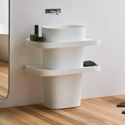 Fonte Washbasin Totem | Vanity units | Rexa Design