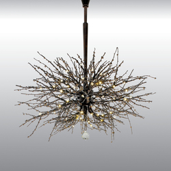 Twig Chandelier | Ceiling suspended chandeliers | Jonathan Browning Studios