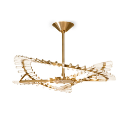 Flexus Elio Chandelier | Ceiling suspended chandeliers | Baroncelli  sc 1 st  Architonic & FLEXUS BRANCO CHANDELIER - Ceiling suspended chandeliers from ... azcodes.com