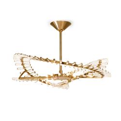 Flexus Elio Chandelier | Ceiling suspended chandeliers | Baroncelli