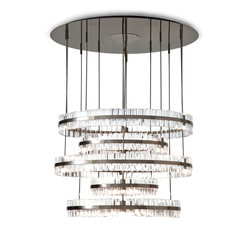 Crono Chandelier | Ceiling suspended chandeliers | Baroncelli