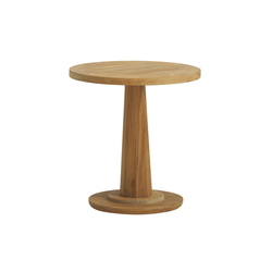 Marin 18'' Rd Occasional Table | Mesas auxiliares de jardín | Brown Jordan
