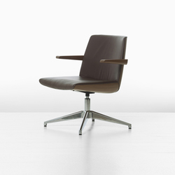 Clamshell Clamshell Side Lowback Armchair | Conference chairs | Geiger