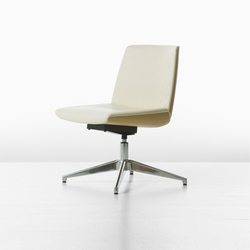 Clamshell Clamshell Side Lowback Armless Chair | Conference chairs | Geiger