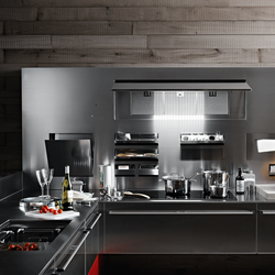 Artematica Inox | Fitted kitchens | Valcucine