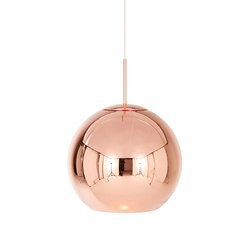 Copper Round Pendant 45cm | General lighting | Tom Dixon