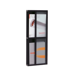 Tidskriftshylla 2 magazine storage | Brochure / Magazine display stands | Scherlin