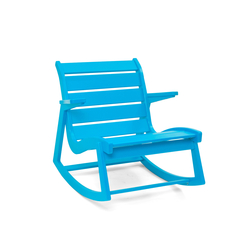 Rapson Rocker Low Back | Garden armchairs | Loll Designs