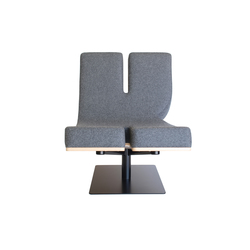 Typographia Chair | Lounge chairs | TABISSO
