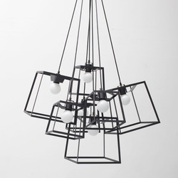 7 Piece Frame Cluster Powder Coated | General lighting | Iacoli & McAllister