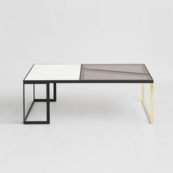 Hialeah Table Marble | Tavolini salotto | Iacoli & McAllister
