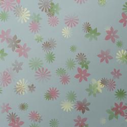 Bloom Cornflower wallcovering | Carta da parati | Wolf-Gordon