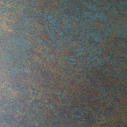 Porphyry Golden/Green wallcovering | Wall coverings | yangki