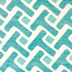 Tease Teal | Revestimientos de paredes / papeles pintados | Phillip Jeffries