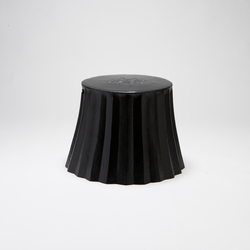 Cookie Paper Too stool | side table | Poufs | Karen Chekerdjian
