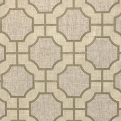 Imperial Gates Cream and Champagne | Wall coverings | Phillip Jeffries