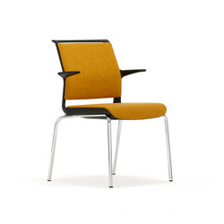 Ad-Lib Four Leg ADL7A | Visitors chairs / Side chairs | Senator