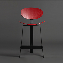 Papillon high stool | Counter stools | Karen Chekerdjian