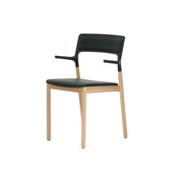 Florinda Soft with armrests | Visitors chairs / Side chairs | De Padova
