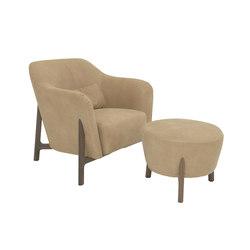 Pilotis armchair | pouf | Lounge chairs | De Padova