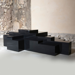 Platform A Coffee table | Tavolini salotto | Karen Chekerdjian
