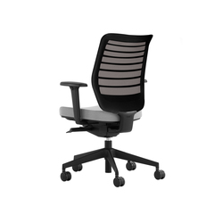 High End Task Chairs With Synchronized Tilt Mechanism On