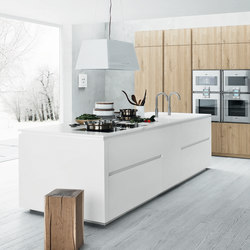 Cloe | Composition 1 | Fitted kitchens | Cesar Arredamenti