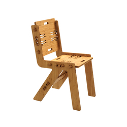 CLICDINERCHAIR bamboo | Chaises | PeLiDesign