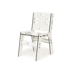 CLICDINERCHAIR TRESPA | Sedie da giardino | PeLiDesign