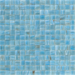 Aurore 20x20 Celeste | Glass mosaics | Mosaico+