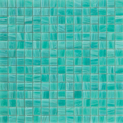 Aurore 20x20 Acquamarina | Glas Mosaike | Mosaico+