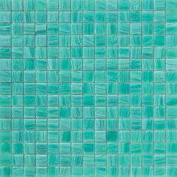 Aurore 20x20 Acquamarina | Glass mosaics | Mosaico+